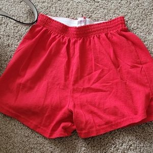 Red Soffe Shorts